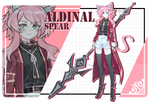 [auction] adoptable | aldinal spear [closed]