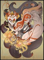 Kitsune Magic by Flying-Fox