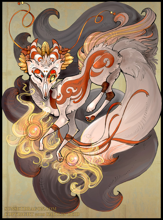 Anime Kitsune Fox Images &amp Pictures  Becuo