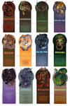Monsters Bookmarks 12