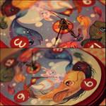 Fish Parade Clock by Flying-Fox