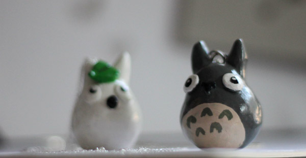 Image Gallery white totoro