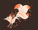 Kitsune T-shirt \