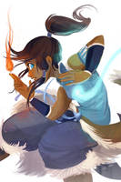 Korra by Flying-Fox