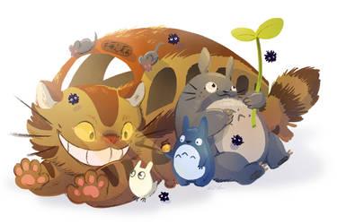 Totoro by Flying-Fox