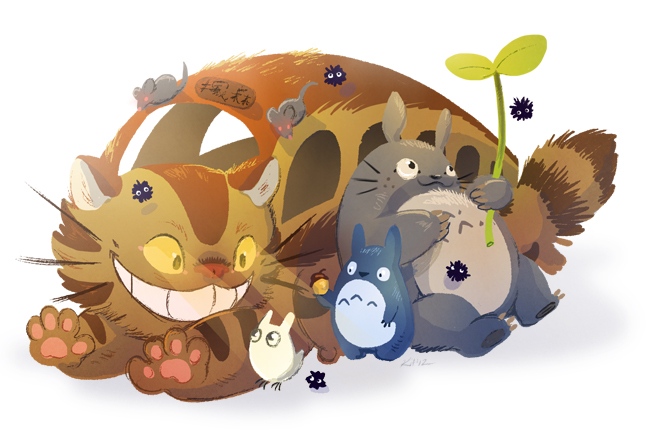 Totoro by Flying-Fox