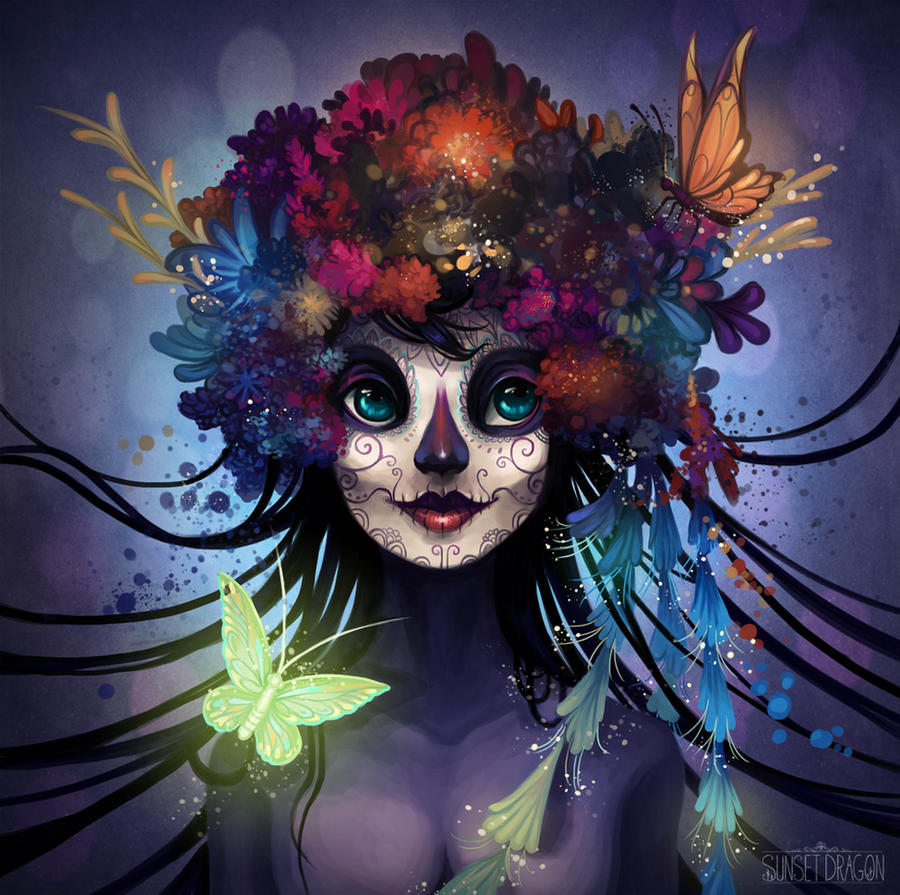 Sugar Skull by Flying-Fox