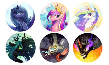 Heros and Villians by Flying-Fox