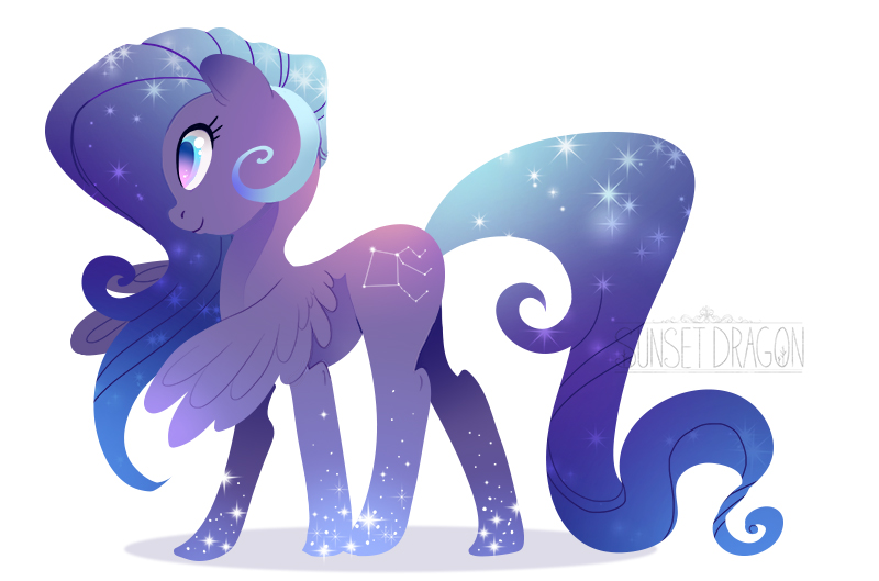 OC Pony Charact... Person Flying In The Sky