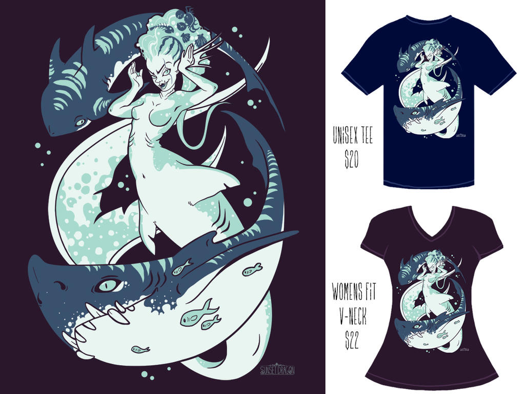 Shark Tee-PREORDERS OPEN! by Flying-Fox