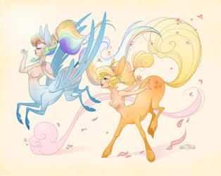 Petal Frolic by Flying-Fox