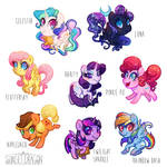 Pony Charms on Pre-Order