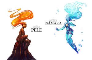 Hawaiian Deities by Flying-Fox