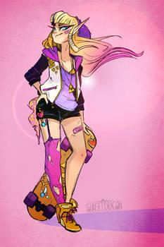 Zelda Skater