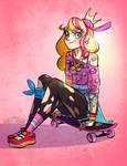 Peach Skater