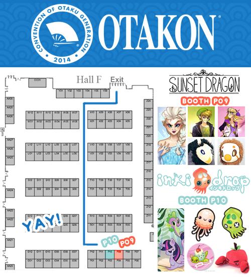 Otakon Map! 2014 by Flying-Fox