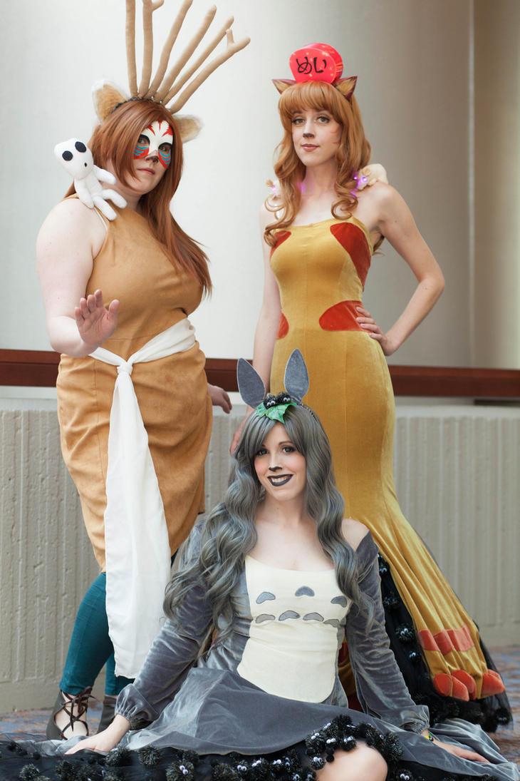Ghibli Gowns by Flying-Fox