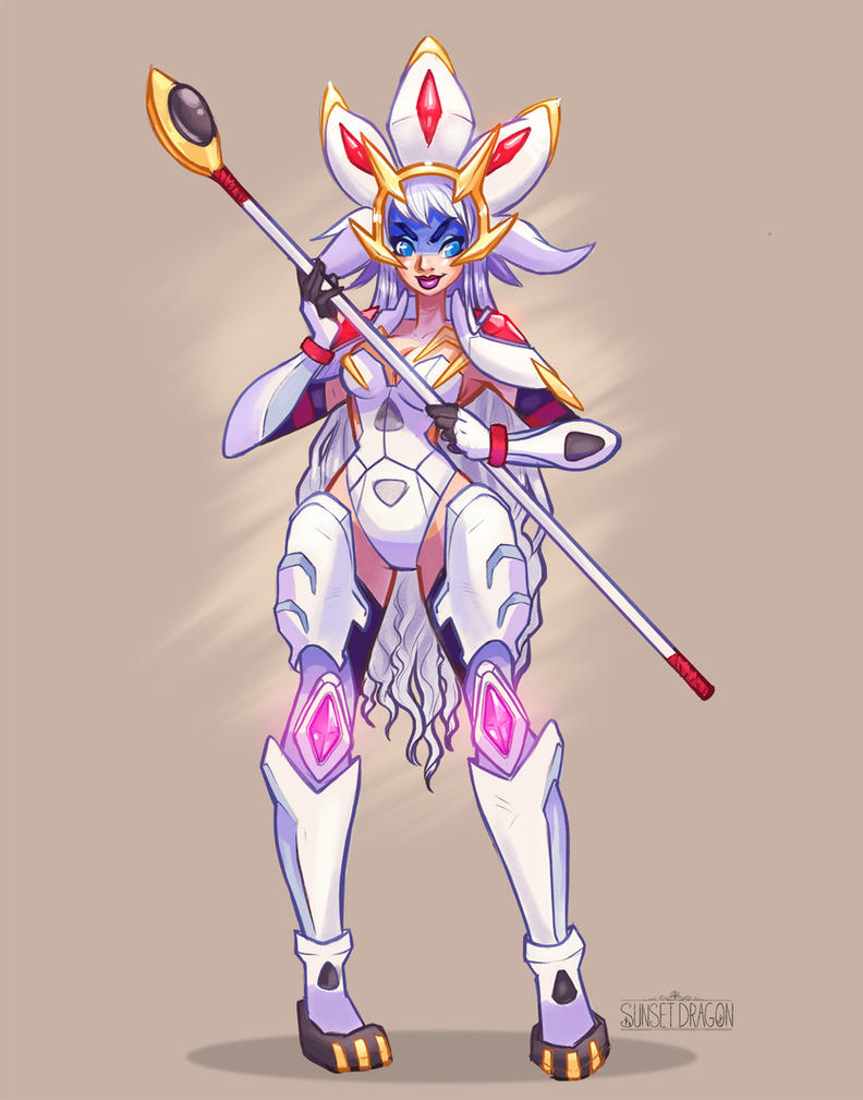 SOLGALEO Gijinka Pokemon Sun by Flying-Fox