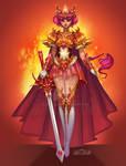 Hikaru Redesign- Magic Knight Rayearth