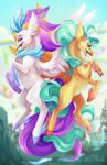 MLP- Queen Novo and Princess Skystar