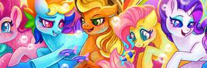 Sea Pony Scarf