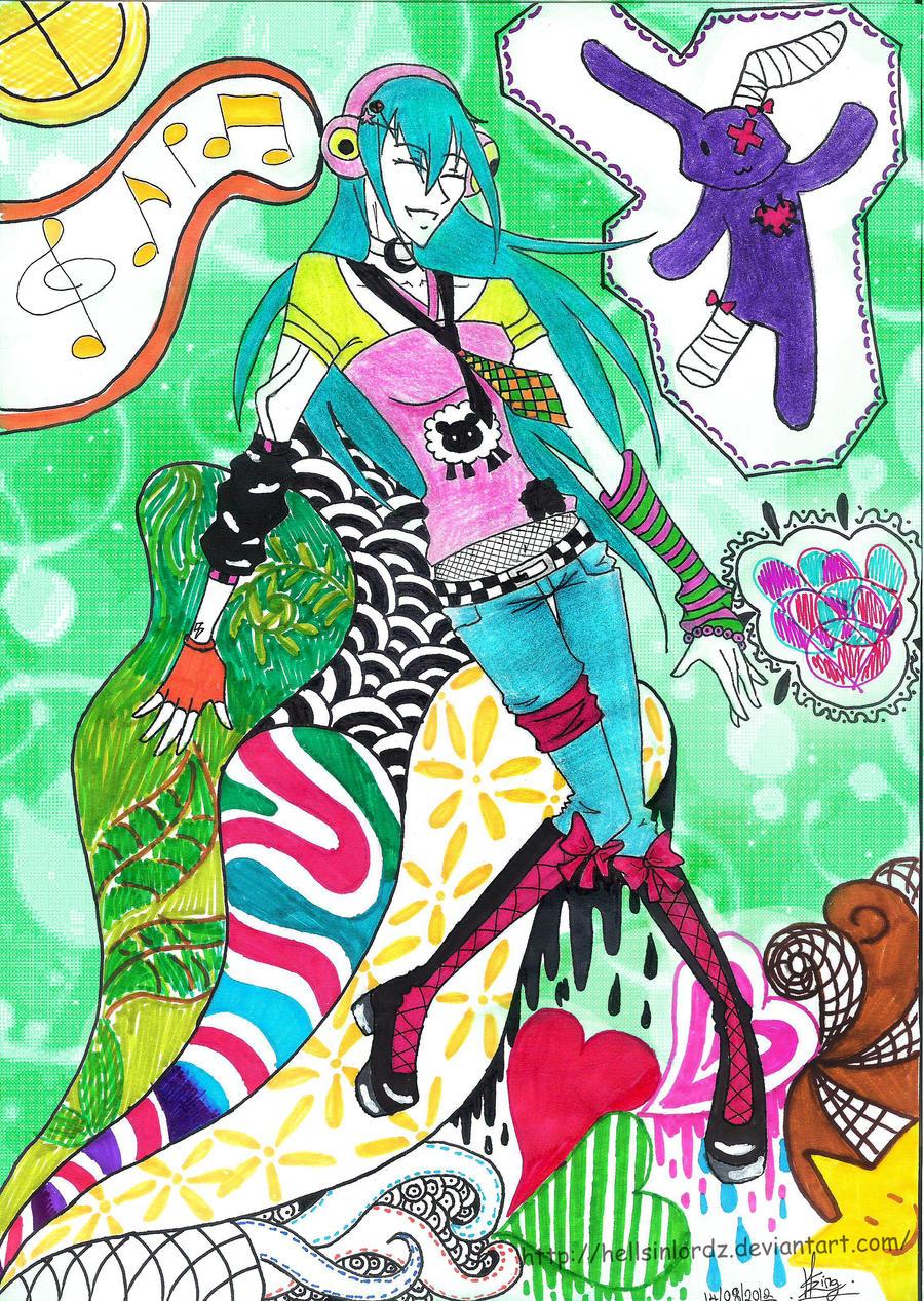 Commission: Nami Saito by HellSiNLordZ