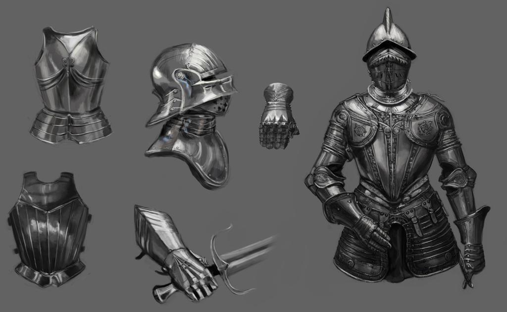 Armor Study by thalia-art