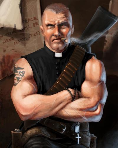 Padre by DennisDarmody