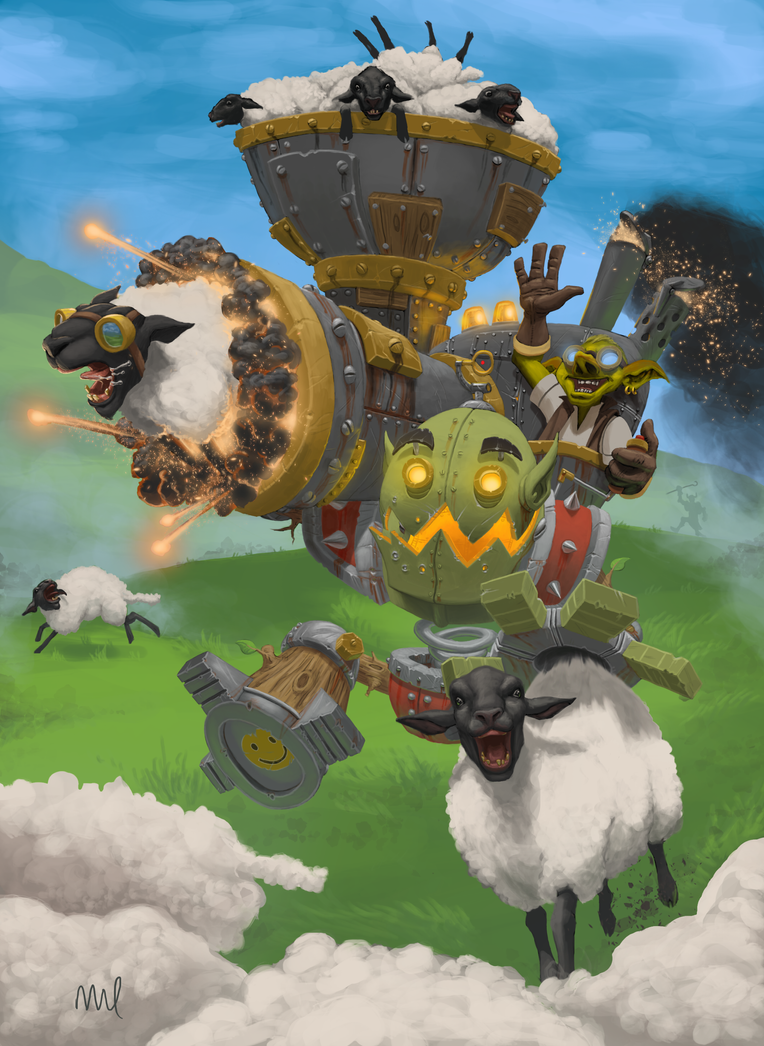 Piloted Sheep Launcher by DennisDarmody