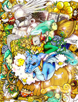 Romojii Rides Dragons