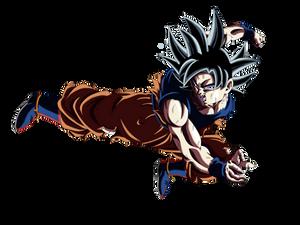 Goku ultra instinto 1era forma (color)