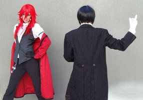 Grell and Sebastian 4 by Bad-Apples