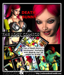 Death Bunny, The Lost Comics - OUT NOW!! by EdgarSlam
