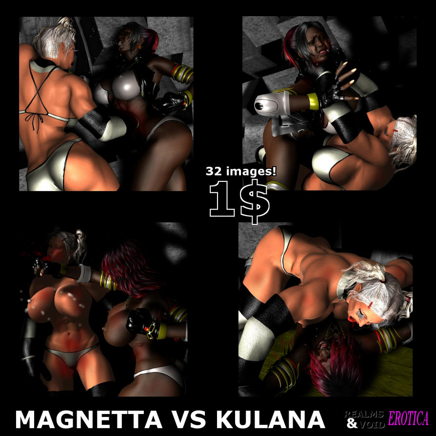 Magnetta VS Kulana - 1$! by Realms-And-Void