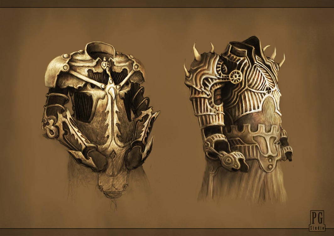 Armor concepts by Telmand