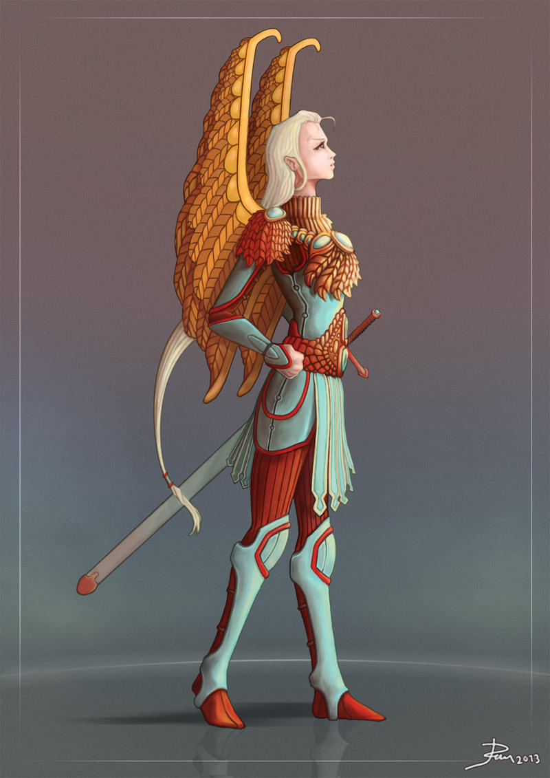 Character concept by Telmand