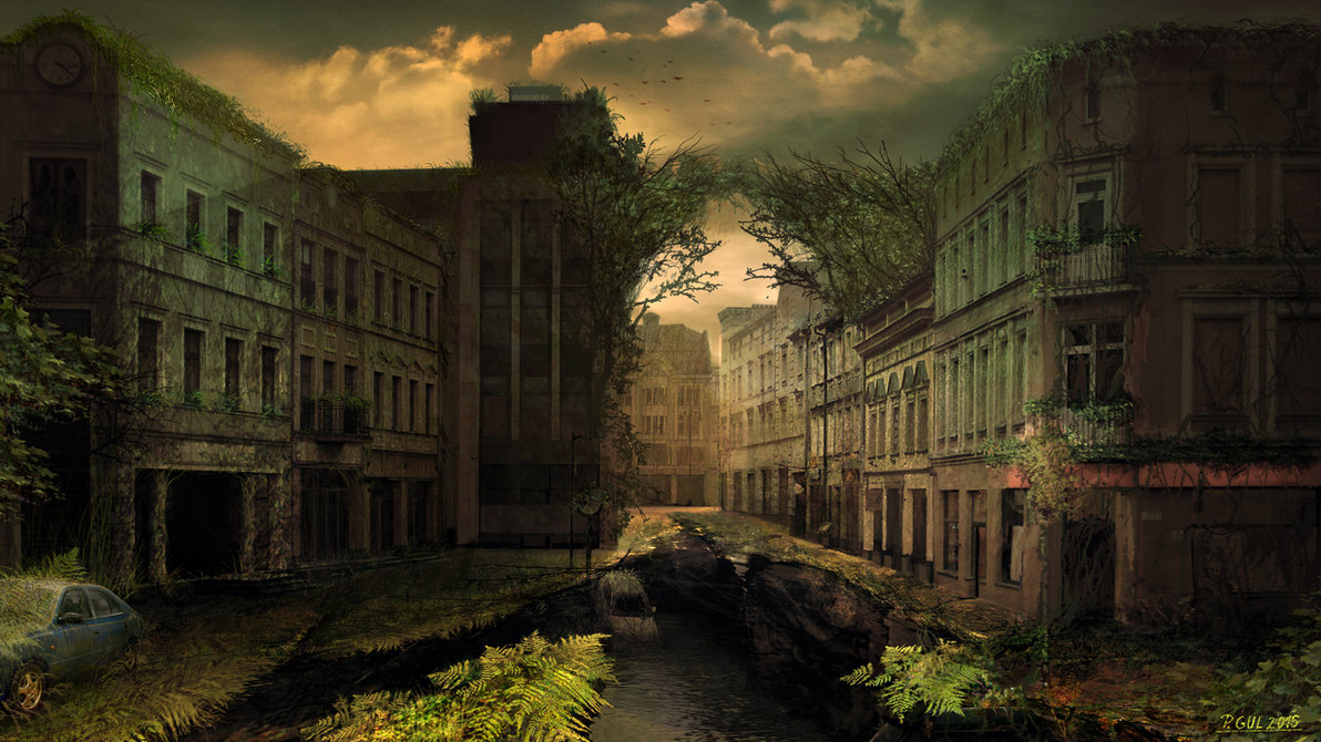 Forgotten city by Telmand