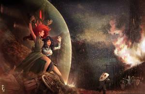 The Witcher: Merigold's Hailstorm by Telmand