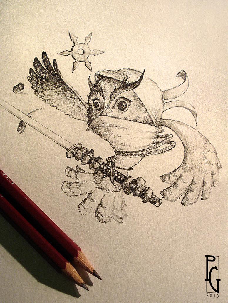 Ninja Owl by Telmand