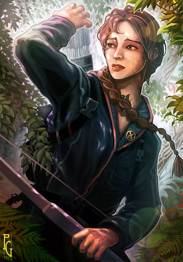 Katniss Everdeen by Telmand