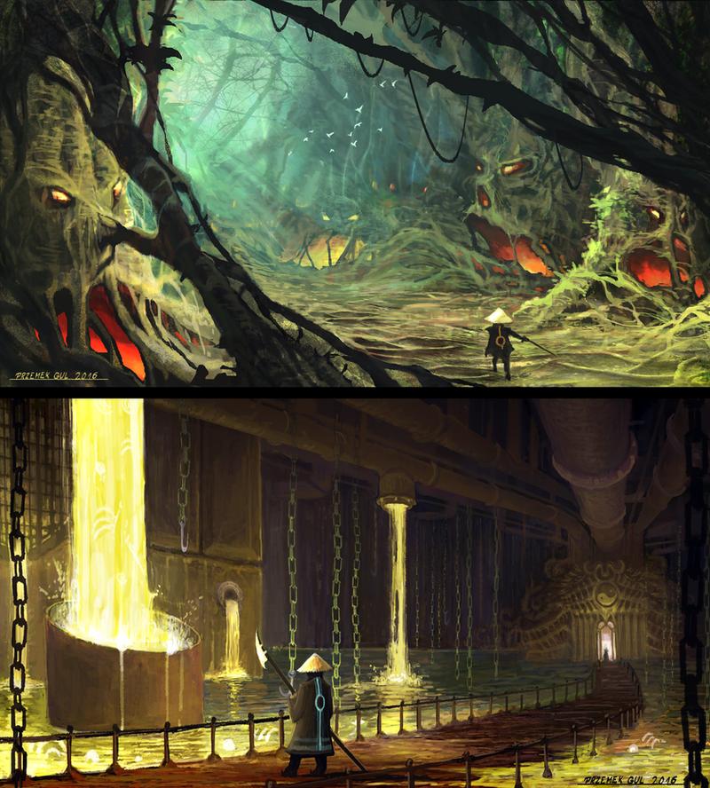 Mortal Kombat II - redesign by Telmand
