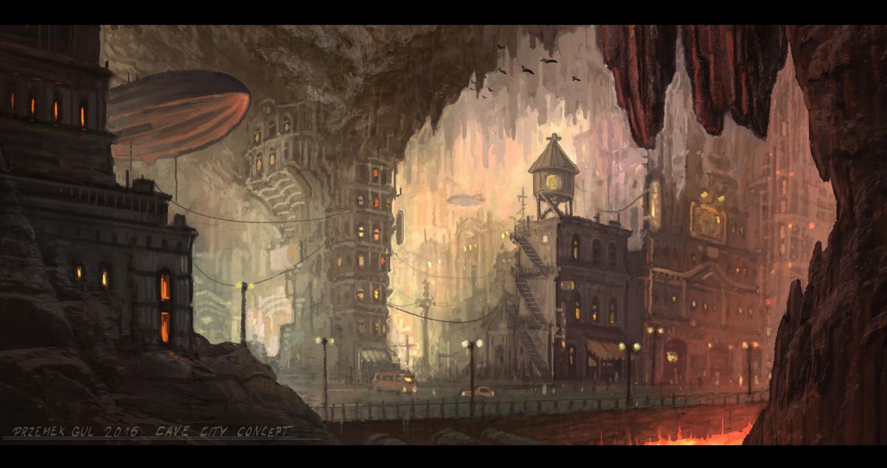 Trama V - Isla Barracuda. - Página 2 Cave_city_by_telmand-d9o9zrb