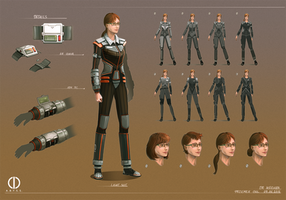 The A.B.Y.S.S. - Character design by Telmand