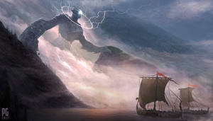 The Storm Giant by Telmand