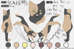 Scaleears reference sheet