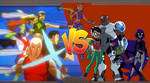 Young Justice Vs Teen Titans by Darksuperboy