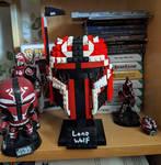 STAR WARS : LONE WOLF LEGO HELMET by Darksuperboy