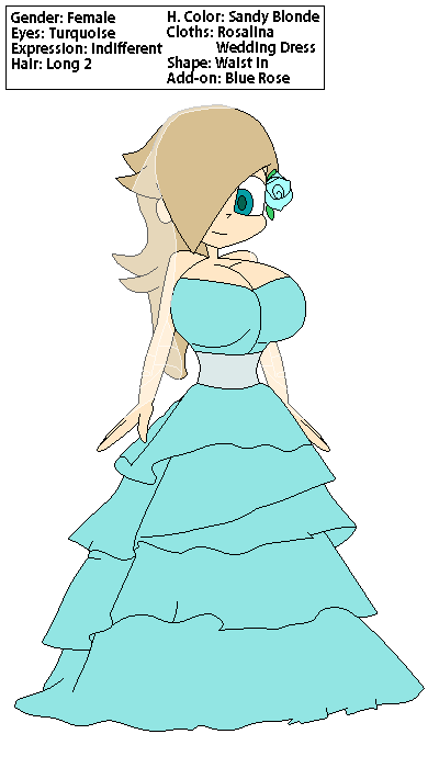 CYOE Rosalina Wedding Dress by redryan2009 on DeviantArt