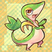 Tsutaja Pokemon by MagicBunnyArt