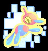 Porygon-Z by MagicBunnyArt
